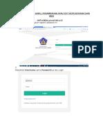 Tutorial Cara Pendftaran Lewat Web