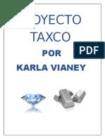 Proyecto Taxco