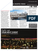 Business Events News for Thu 24 Nov 2016 - Walsh Bay plots waterfront event space, AACB MICE analysis, FCm Travel Solutions, PCOA, Perth Convention Bureau, EECW rebrand, CINZ and much more