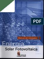 Junta Castilla Y Leon - Energia Solar Fotovoltaica Manual Del Instalador