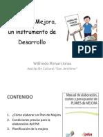 2 El Plan de Mejora Wilfredo Rimari