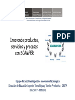 4 Innovando Productos, Servicios y Procesos Con SCAMPER