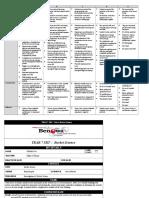 srt rocket task sheet