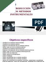 Tema 10 Introduciion a Los Metodos Instrumentales