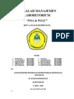 makalah manajemen laboratorium