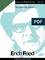 Cuaderno de Poesia Critica n 8 Erich Fried