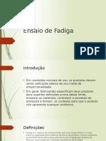 Ensaio de Fadiga2