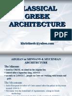Greek Architecture 2
