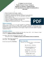 Currículo Vitae -- Emilio Garay 1.doc