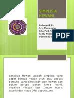 Farkog Kel 8 Simplisia Hewani
