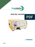Aquamantys Guia Usuario