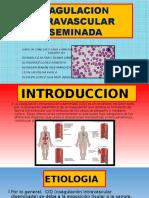 Coagulacion Intravascular Diseminada Exposicion