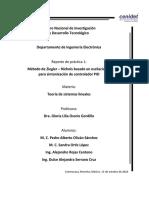 Reporte Practica 1 Teoría de Sistemas Lineales
