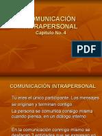 COMUNICACIÓN INTRAPERSONAL
