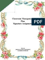 signature assignment