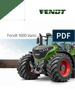 Fendt 1000 Vario Manual