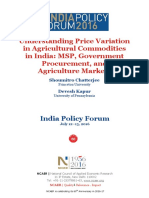 IPF 2016 Paper Chatterjee Kapur