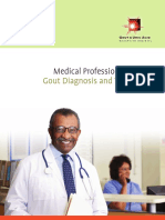 Gout Information for Medical Professionals