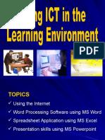 Using ICT - Internet