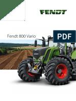 Fendt 800 Vario Manual