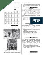 Simulado 5 - (3º Ano E.F - Ciências)- (Blog Do Prof. Warles)