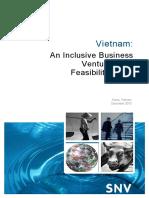 2010 ADB Vietnam Inclusive Business Feasibility Study FINAL