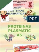 Proteinas Plasmaticas