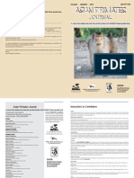Asian Primate Journal Vol. 1(2)