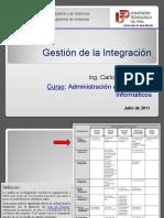 Clase API05 La Gestion de Integracion