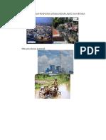 Perbandingan Bangunan Pemukiman Penduduk Antara Ne