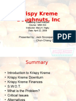 155305692 Krispy Kreme Case Study Solution Finance Ppt