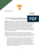 TJPA Press Statement Millennium Tower Oct 4 2016