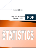 Statistics Lecture