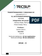 Lab 04 TRANSFORMADORES Y MÁQUINAS DC. Percy Riva - Panduro Rojas.docx