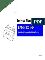 LX-300 Plus Service Manual