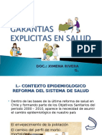 Vi Garantias Explicitas en Salud