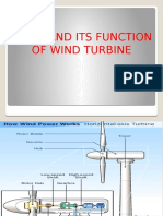Parts and Its Functions of Wind Turbine