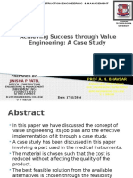 Value Engg