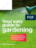 Easy Guide to Gardening
