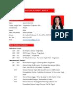 11 Contoh Cv Yang Baik Benar Dan Menarik Terbaru Doc Jempolkaki