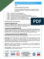 PCTDS 032 Topcoat 200 Detailed Application - Refurbishment
