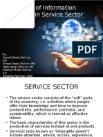 Information Technology in Service Sector