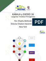 Kabala y Exodo 16