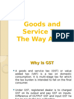 Central Excise - Session-5 - GST