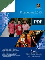 SMU Prospectus -2016