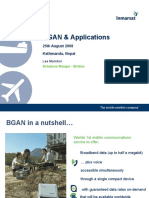 BGAN & Applications - Nepal