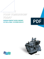 Doosan G2 Engine Brochure