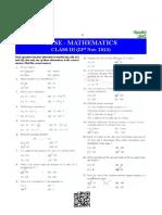GTSE - Mathematics Class III
