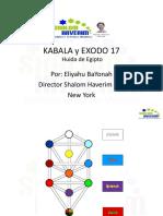 Kabala y Exodo 17