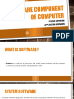 Software Component of Computer
